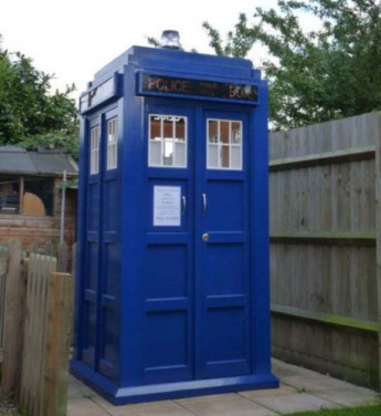 Shed of the Year 2014 finalist: Mini Doctor's Tardis