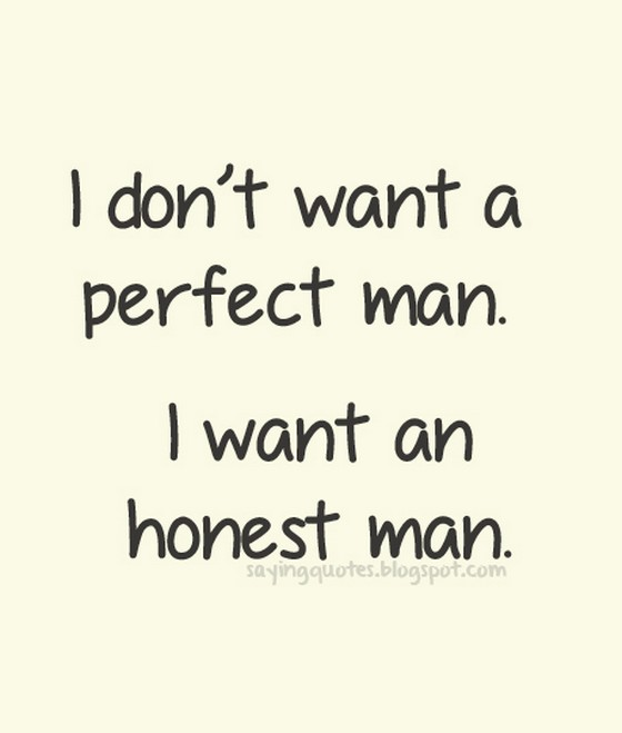 The kind of man i want quotes