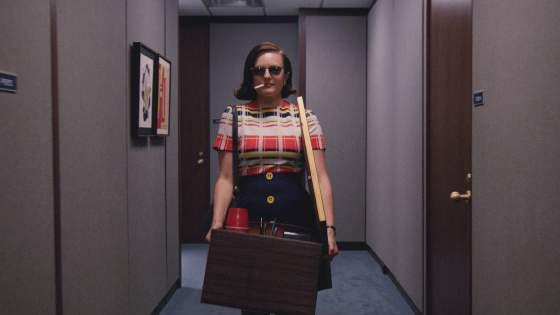 Elisabeth Moss as Peggy Olson - Mad Men _ Season 7B, Episode 12 - Photo Credit: Courtesy of AMC